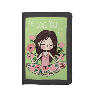 Rosa Rosen-Mädchen-Liebe-Yoga