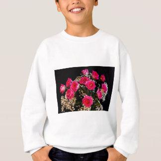 Rosa Rosen mit meiner ganzer Liebe Sweatshirt
