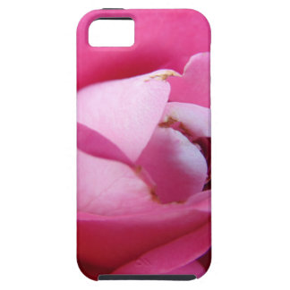 Rosa Rosen-Mitte iPhone 5 Hülle
