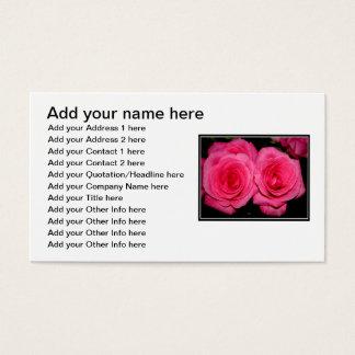 Rosa Rosen Visitenkarte