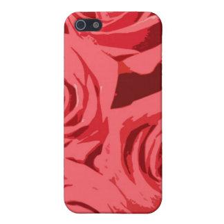 Rosa Rosenbeschaffenheit Hülle Fürs iPhone 5