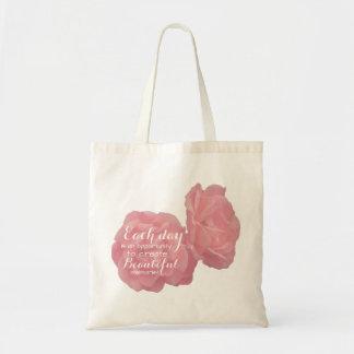 Rosa rosige Taschentasche Tragetasche
