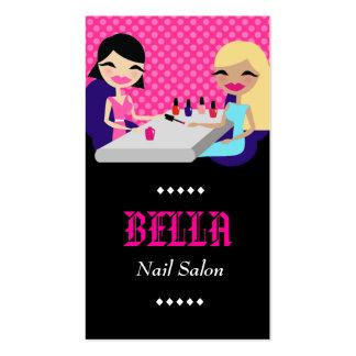 ROSA SALON des NAGEL-311-HOTT Visitenkarten