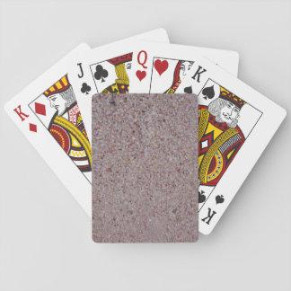 Rosa Sand-Spielkarten Spielkarten