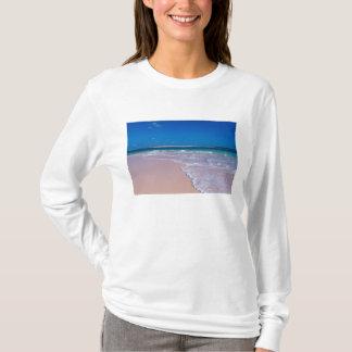 Rosa Sandstrand an der Tritonshorn-Bucht, T-Shirt