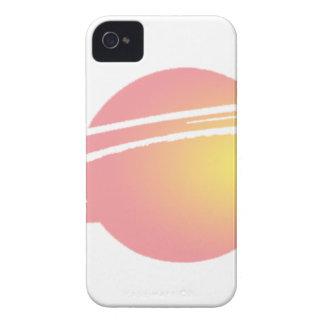Rosa Saturn iPhone 4 Cover