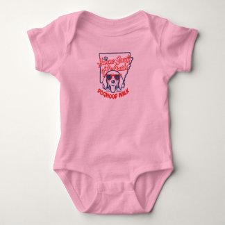 Rosa Säuglings-Strampler Baby Strampler