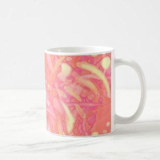 Rosa Schlamm Kaffeetasse