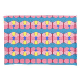 Rosa Schmetterling Kissen Bezug
