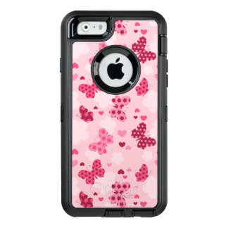 Rosa Schmetterlingsmuster Otterbox iphone Fall OtterBox iPhone 6/6s Hülle