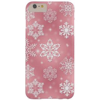 Rosa Schneeflocke iPhone 6 Pluskaum dort Fall Barely There iPhone 6 Plus Hülle