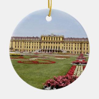 Rosa Schonbrunn Schloss, Blumen Wiens, Österreich Keramik Ornament