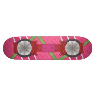 Rosa Schwebeflug-Brett (GERADE eine GRAFIK!!) Personalisierte Skateboarddecks