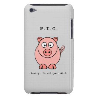 Rosa Schwein-Spaß iPod Touch Case