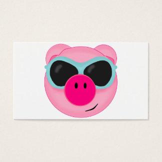 Rosa Schwein-Visitenkarte Visitenkarte