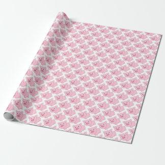 Rosa Schweine Geschenkpapier