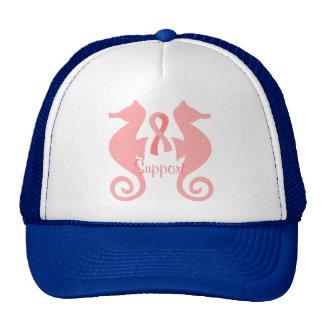 Rosa Seepferde Baseball Caps