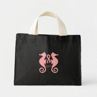 Rosa Seepferde Einkaufstaschen