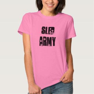 """Rosa Sledders.com-T - Shirt """"der Schlitten-Armee-"""""""