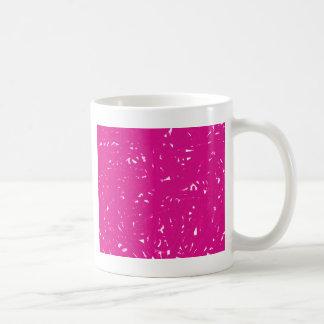 Rosa Spaghettis Kaffeetasse