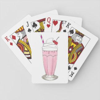 Rosa Spielkarten