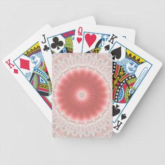 Rosa Spielkarten Sun