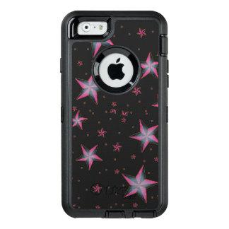 Rosa spielt Otterbox Verteidiger-Fall die OtterBox iPhone 6/6s Hülle