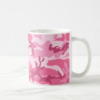 Rosa städtisches Camoflage Muster Kaffeetasse
