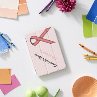 Rosa Standardband durch Kenneth Yoncich iPad Mini Hülle