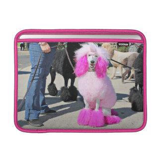 Rosa Standardpudel des Pudel-Tag2016 - Barnes - Sleeve Fürs MacBook Air