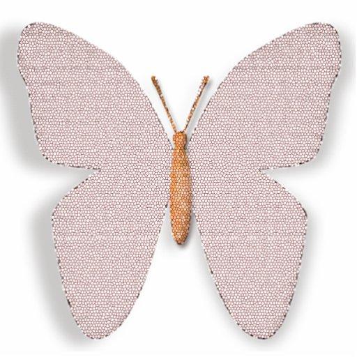 Rosa Stein glauben Schmetterling Foto Ausschnitt