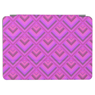 Rosa Streifenskalamuster iPad Air Cover