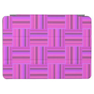 Rosa Streifenwebartmuster iPad Air Hülle