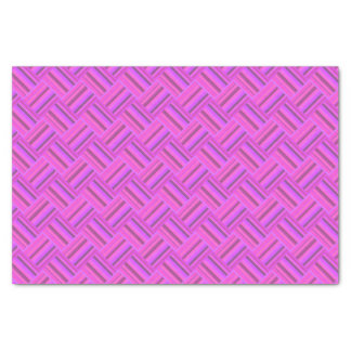 Rosa stripes diagonales Webartmuster Seidenpapier
