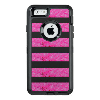 Rosa Stripes OtterBox Apple iPhone Kasten OtterBox iPhone 6/6s Hülle
