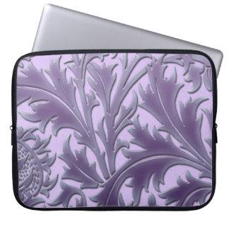 Rosa Süßigkeits-Distel Laptopschutzhülle