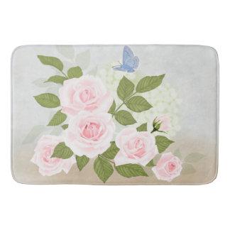 Rosa Symphonie-Rosen Badematten