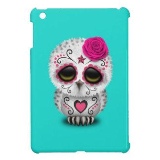 Rosa Tag der toten Baby-Eule iPad Mini Hülle