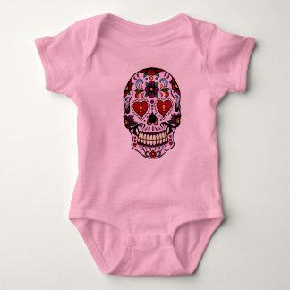 Rosa Tag der Toten Baby Strampler