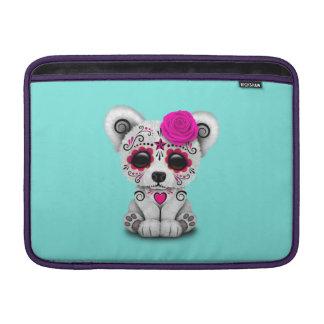 Rosa Tag des toten Baby-Eisbären Sleeve Fürs MacBook Air