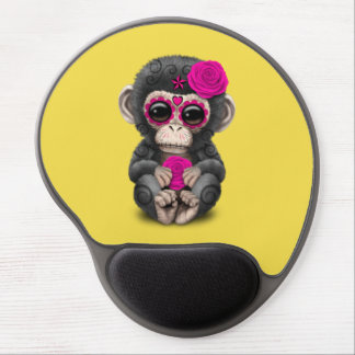 Rosa Tag des toten Schimpansen Gel Mousepad