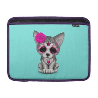 Rosa Tag des toten Wolfs CUB MacBook Air Sleeve