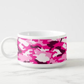 Rosa Tarnungs-Muster-Chili-Schüssel Schüssel
