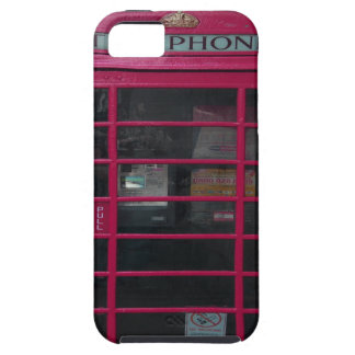 rosa Telefonzelle iPhone 5 Cover