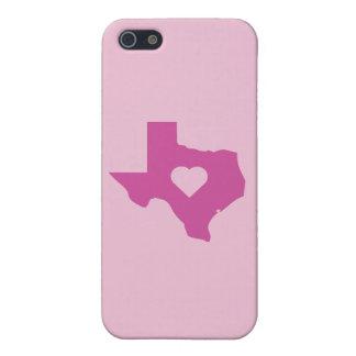 Rosa Texas Etui Fürs iPhone 5