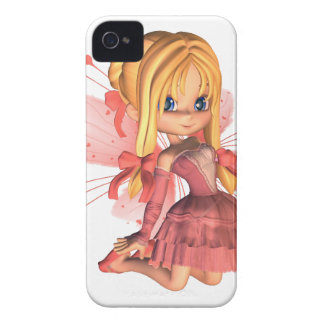 Rosa Toon-Valentinsgruß-Fee - 2 iPhone 4 Cover