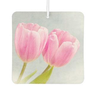 Rosa Tulpen Autolufterfrischer