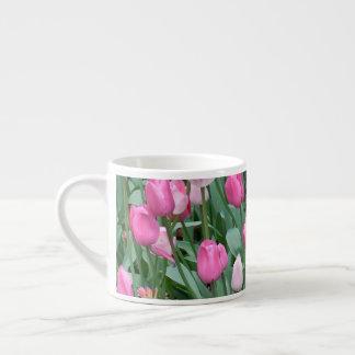 Rosa Tulpen Espressotasse