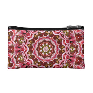 Rosa Tulpen Makeup-Tasche