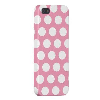 rosa Tupfen Hülle Fürs iPhone 5